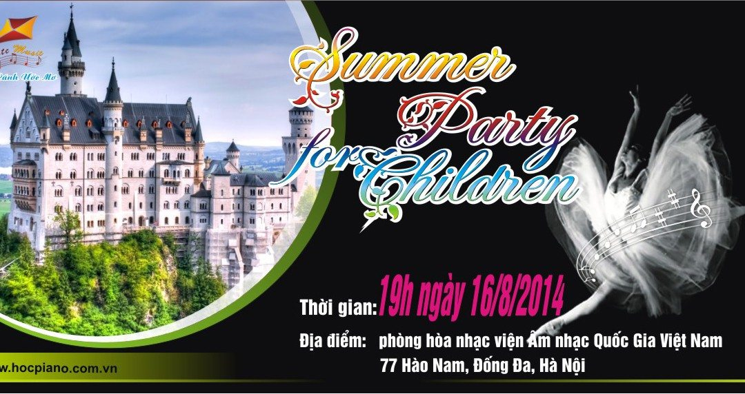 Summer Party for Children 2014